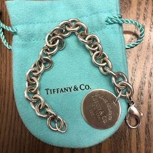 Return to Tiffany Round Tag Bracelet